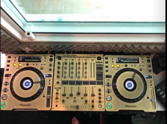Cdj Mk3 E Mix Djm600 Customizado O Par