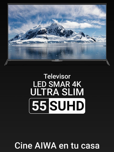 Smart Tv 55 Pulgadas 4k Aiwa
