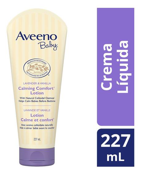 Crema Líquida Corporal Bebé Calming Comfort 227g Aveeno Baby