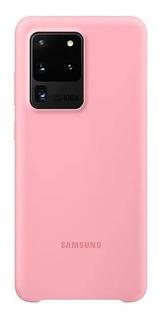 Funda Silicone Case Cover Samsung S20 Ultra Original Colores