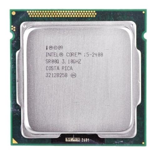 Imagem 1 de 2 de Kit Processador I5 2400 + Placa Mãe H61 + 8g Limpa Estoque