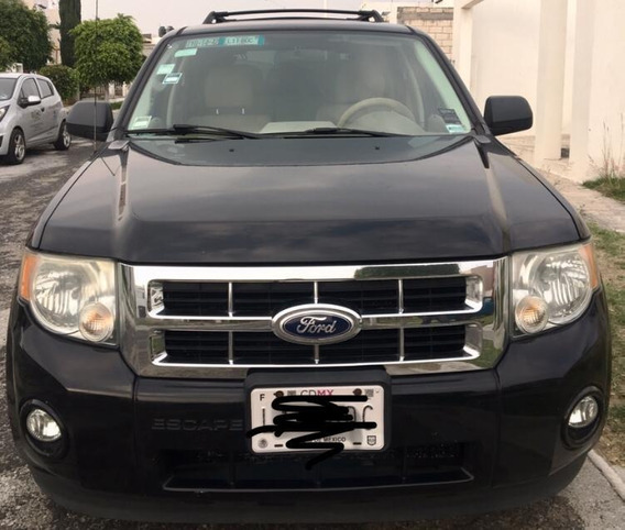 Ford Escape 2010 Xlt Piel Limited