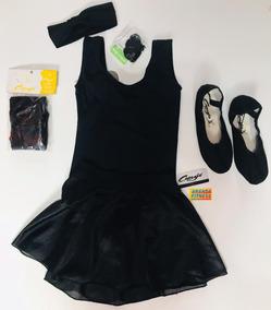 e70a0ecd26 Kit Ballet Capezio - Regata Infantil - 4 Ao 12 + Bolsa