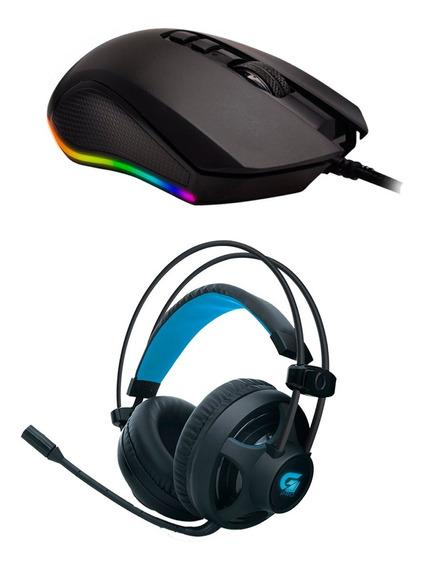 Mouse Gamer Barato G Pro M3 Macro + Headset Gamer Pro H2