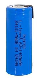Bateria Rec. C/ Terminal Li-ion 18490 3.6v 1400mah Rontek