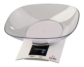 Balanza De Cocina Digital Gama Sck-500 Hasta 3 Kg Con Bowl