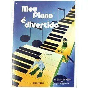 Meu Piano E Divertido Vol 1 Livro Partituras Metodo Piano