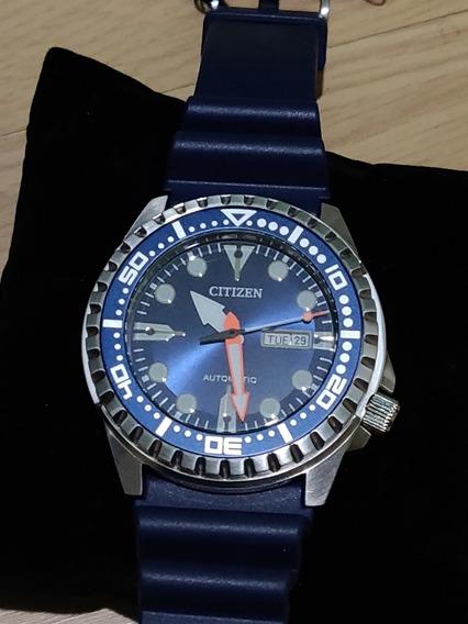Relógio Citizen Automático Azul(novo)