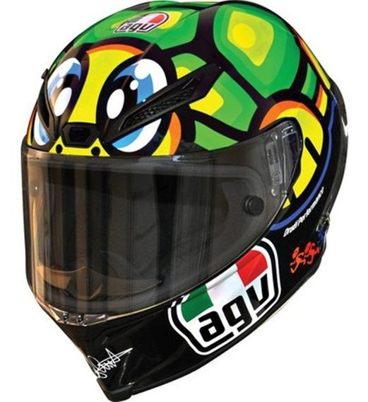 Capacete Agv Corsa Valentino Rossi Turtle - Edição Limitada