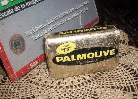Antiguo Paquete Sin Abrir Jabon Palmolive Dorado (5436)