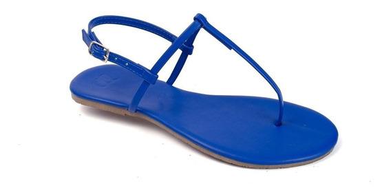 Sandália Flat Básica Feminina Mercedita Shoes