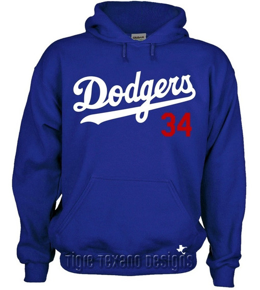 Sudadera Dodgers Los Angeles Mod. 01 By Tigre Texano Designs