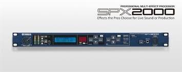 Processador De Efeitos Spx2000 Yamaha