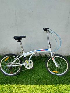 -bicicleta Plegable Usada (poco Tiempo De Uso, En Buen Estad