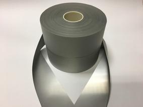 Fita Faixa Refletiva Uniformes Prata 100m X 5cm Largura