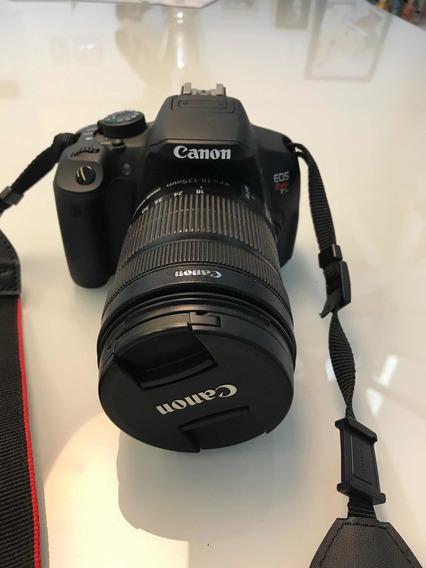 Câmera Cânon T5i Com Lente 18-135mm