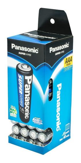 40 Pilhas Panasonic Aaa Palito Item