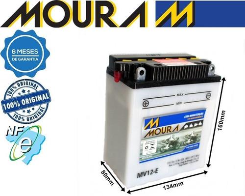 Bateria Honda Cb 400 450 Cbr 450 Sr Mv12-e Moura