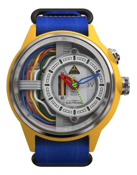 The Electricianz Modelo Cable Z Reloj Con Luz Led Diego Vez