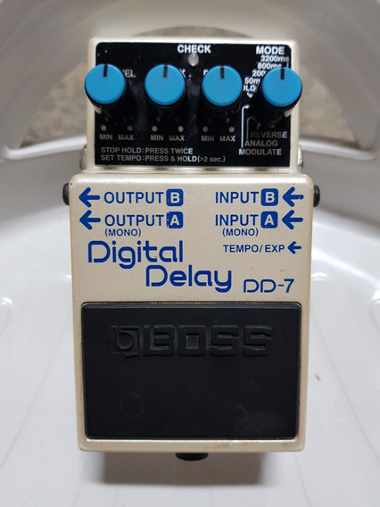 Pedal Boss Dd7 - Digital Delay - Super Conservado!!!