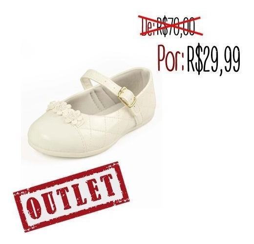Sapato Infantil Menina Sonho De Criança Casual Branco