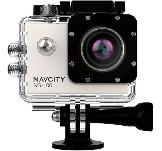 Filmadora Esportiva Navcity Ng 100 Zoom 4x - À Prova D´água