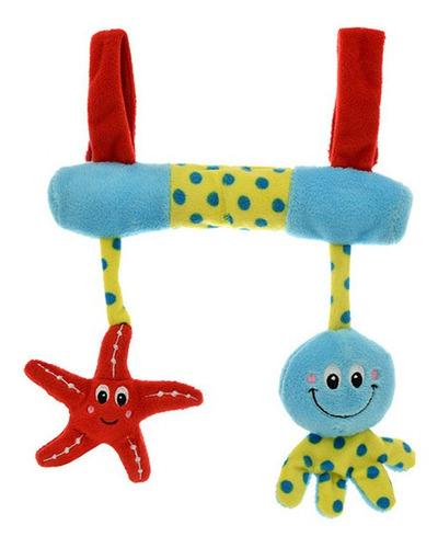 Barral De Cochecito Estrella Y Pulpo Peluche. Phi Phi Toys