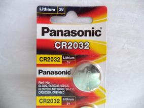 Bateria Lithium 3v Panasonic Cr2032 Original 05 Unidades