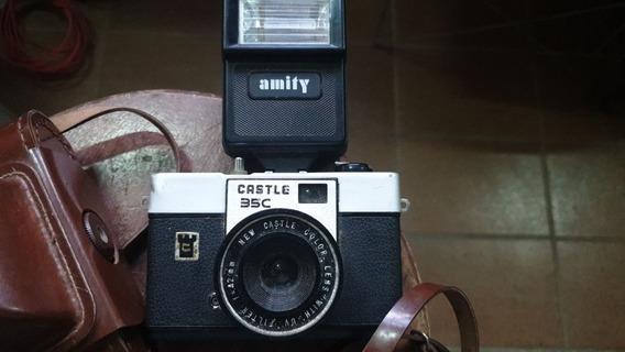 Máquina Fotográfica Antiga Castle 35c