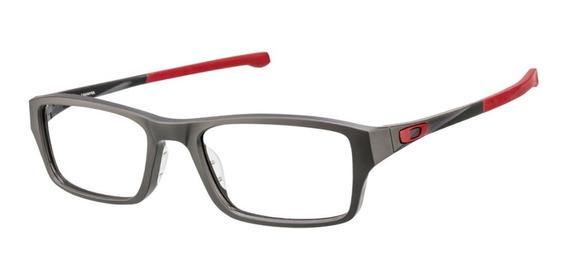Armazon Oakley Ox8039 0351 Chamfer Rojo Negro Mate Original