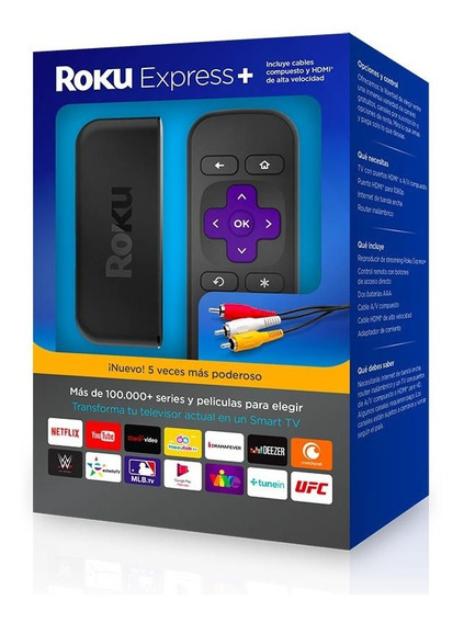 Nuevo Roku Express Smart Tv Hdmi Netflix Youtube C/ Remoto