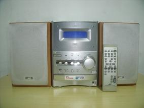 Semi Novo E Lindo Micro System Jvc Ux-p400 Cd,tape E Radio