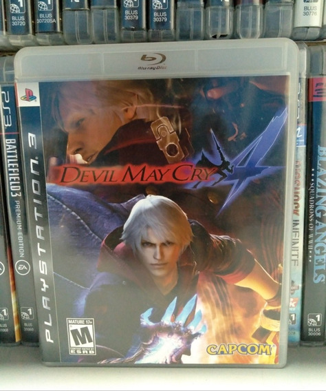 Devil May Cry 4 Ps3 Completo | Parcelamento Sem Juros