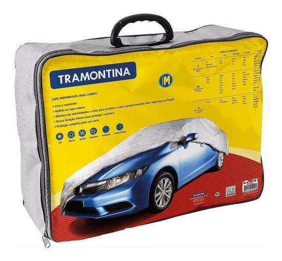 Capa Para Proteger Carros Da Chuva - Tamanho M - Tramontina