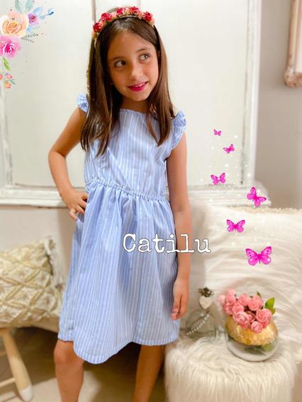 Vestido Nenas Verano Rayado Divino
