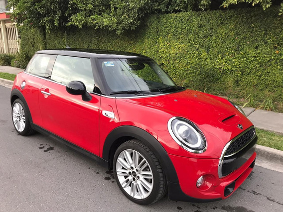 Mini Cooper S Salt 2019 Automatico, Color Rojo