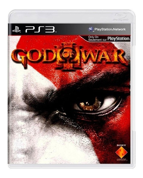 God Of War 3 - Ps3 - Original - Mídia Física - Usado