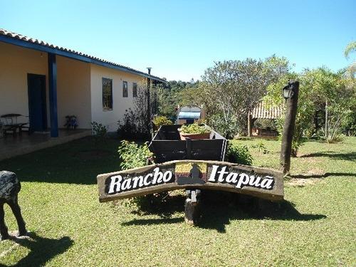 Chácara Estilo Haras No Parque Da Fazenda Em Itatiba - Ch00002 - 2451642