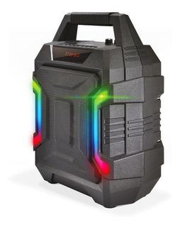 Parlante Bluetooth Portatil Usb Micro Sd Led Rgb Bt1220 Noga