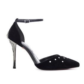 c9bd34e769 Scarpin De Veludo Preto - Sapatos no Mercado Livre Brasil