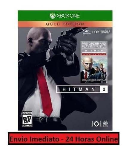 Hitman 2 Jogo + Todo Conteúdo Extra Xbox One Midia Digital