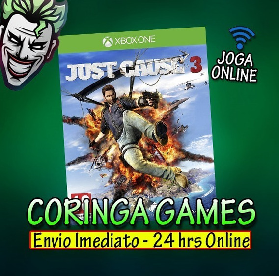 Just Cause 3 Xbox One Mídia Digital + 1 Jogo Grátis