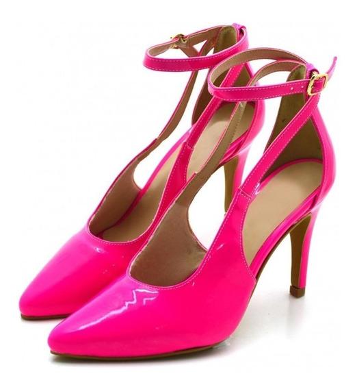 Sapato Scarpin Salto Alto Fino Nova Coleção