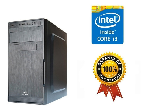 Pc Gamer Cpu Intel Core I3 4gb Ram Hd320gb Brinde!!
