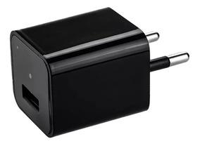 Micro Camera Usb Carregador Spy Espiã Monitoramento 32 Gb
