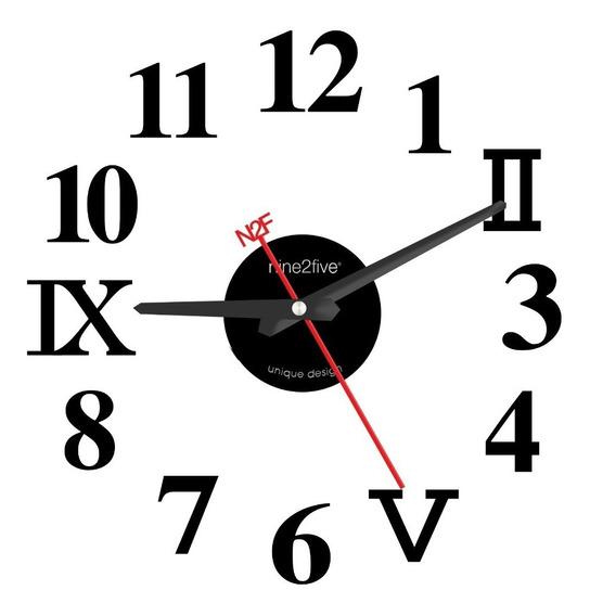 Reloj De Pared Nine2five, Pvyl01ng Mov Silencioso Watch It