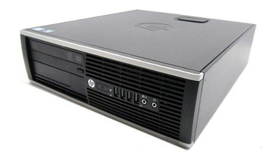 Cpu Corporativo Slim Hp Elite 8100 Core I3 4gb 500gb Wifi