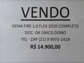 Fiat Siena 1.0 Fire Flex 4p 2010
