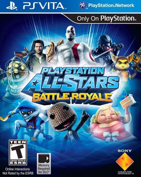 Playstation All Stars Battle Royale (mídia Física) - Ps Vita