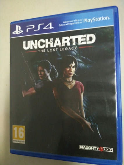 Jogo Ps4 Uncharted The Lost Legacy